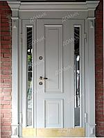Дверь входная со стеклом современный стиль