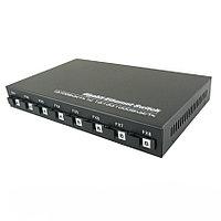 Оптический коммутатор OK-982SM-20A/B с 8 оптическими портами