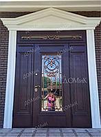 Дверь входная стальная с фальшбортом