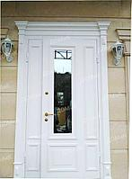 Дверь входная белая на заказ