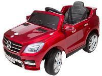 Детский электромобиль  Mercedes-Benz ML350 красный