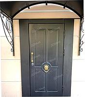 Дверь входная облагороженная