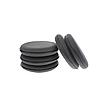 Wax Pad – Аппликатор черный поролоновый круглый, фото 2