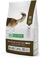 Сухой корм для длинношерстных кошек после стерилизации Nature's Protection Sterilised Long Hair