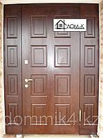Металлические двери входные с МДФ накладкой