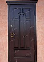 Железные входные двери с накладкой из МДФ