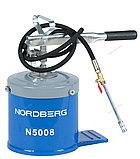 NORDBERG Установка для раздачи густой смазки 8 кг N5008, фото 3