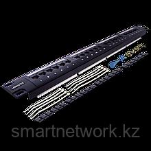 Патч-панель LANMASTER 24 портов, UTP, кат.5E, 1U