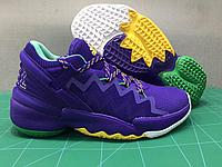 "Баскетбольные кроссовки Аdidas D.O.N. Issue #2 ""Purple"" (40-46)"