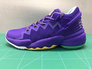 "Баскетбольные кроссовки Аdidas D.O.N. Issue #2 ""Purple"" (40-46), фото 2"