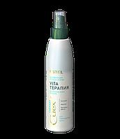 """Двухфазный лосьон-спрей """"Vita-терапия"""" для повреждённых волос CUREX THERAPY 200 ml"""