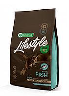 Сухой корм для кошек всех пород Nature's Protection Lifestyle Grain Free Adult Cat White Fish с белой рыбой