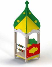 """Домик-беседка """"Восточная сказка"""" с высоким шатровым куполом"""