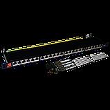 Патч-панель LANMASTER компактная 24 порта, STP, кат. 6, 0.5U, фото 2