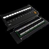 Патч-панель LANMASTER настенная с фронтальным монтажом 12 портов, UTP, кат.5E, фото 2