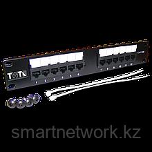 """Патч-панель TWT 10"""", 12 портов, UTP, кат.5E, 1U"""