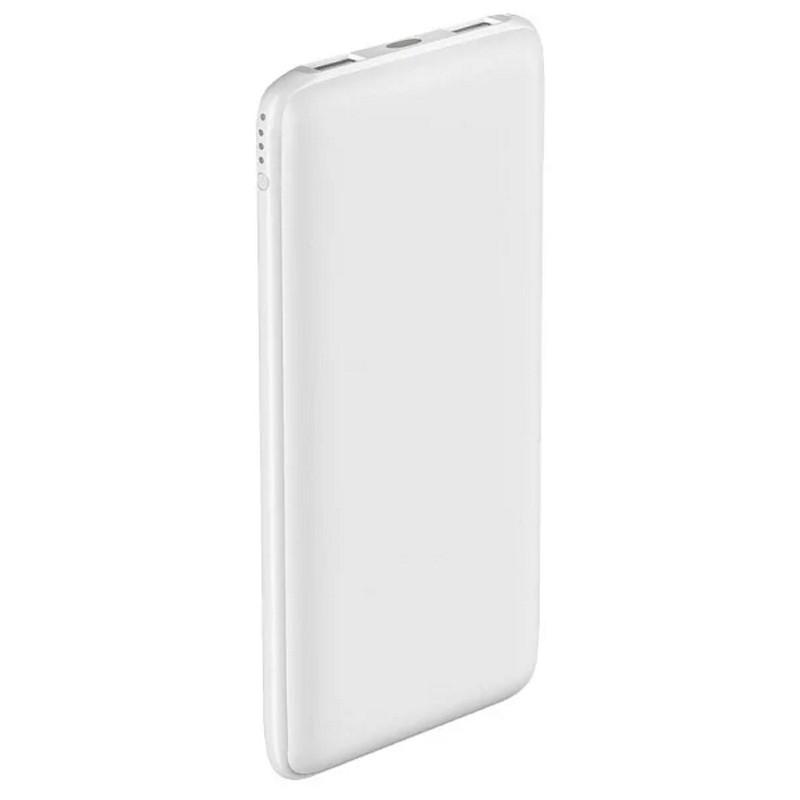 Зарядное устройство Power bank Olmio Slim 10000 mAh (White)