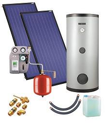 Установка солнечная ZSH-2/250 Kospel (2-3 чел)