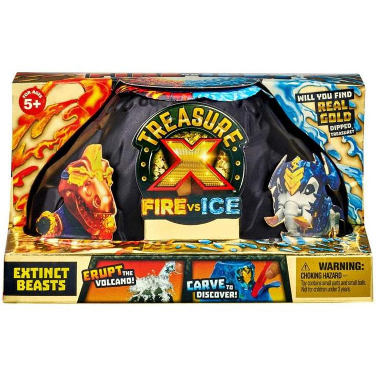 "Treasure X Игровой набор Вулкан ""Огонь vs Лед"""