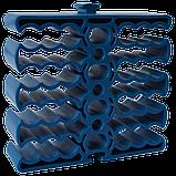 Кабельная гребенка на 24 кабеля, синяя, фото 2