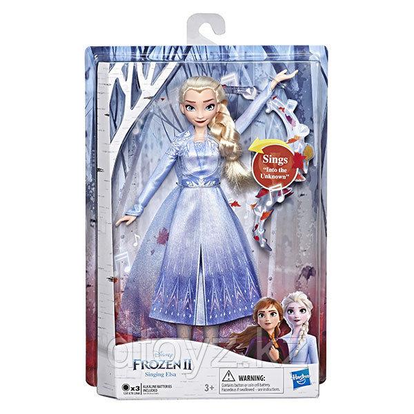 Hasbro Disney Frozen Поющая Кукла Эльза E5498/E6852