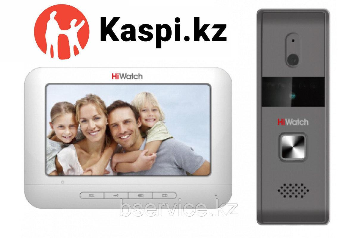 Комплект видеодомофона HiWatch с памятью