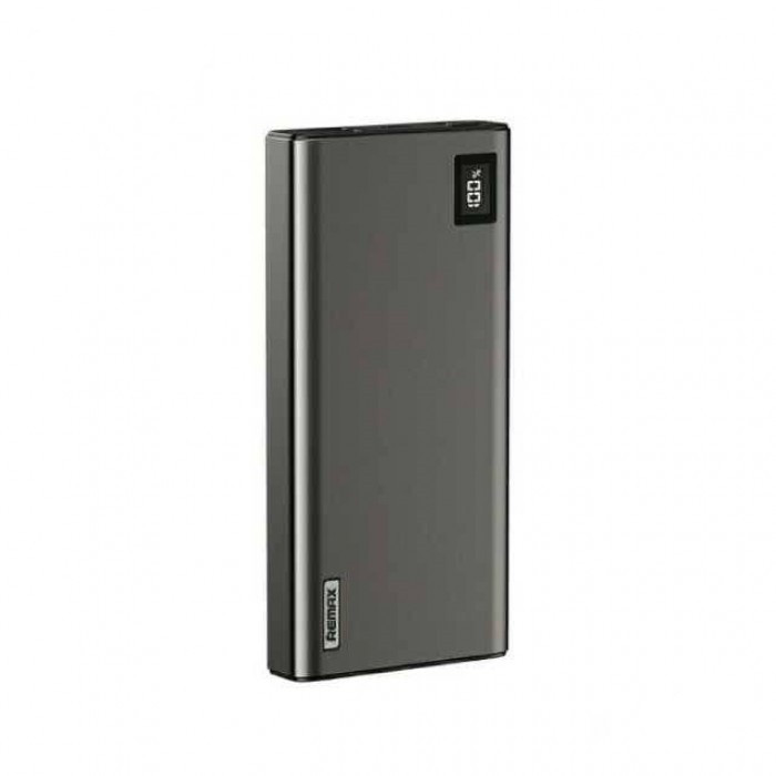 Power Bank с быстрой зарядкой Remax RPP-8 QC + PD 20000mAh (Black)