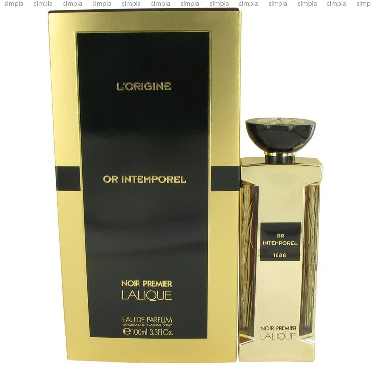 Lalique Or Intemperel 1888 парфюмированная вода объем 100 мл (ОРИГИНАЛ)