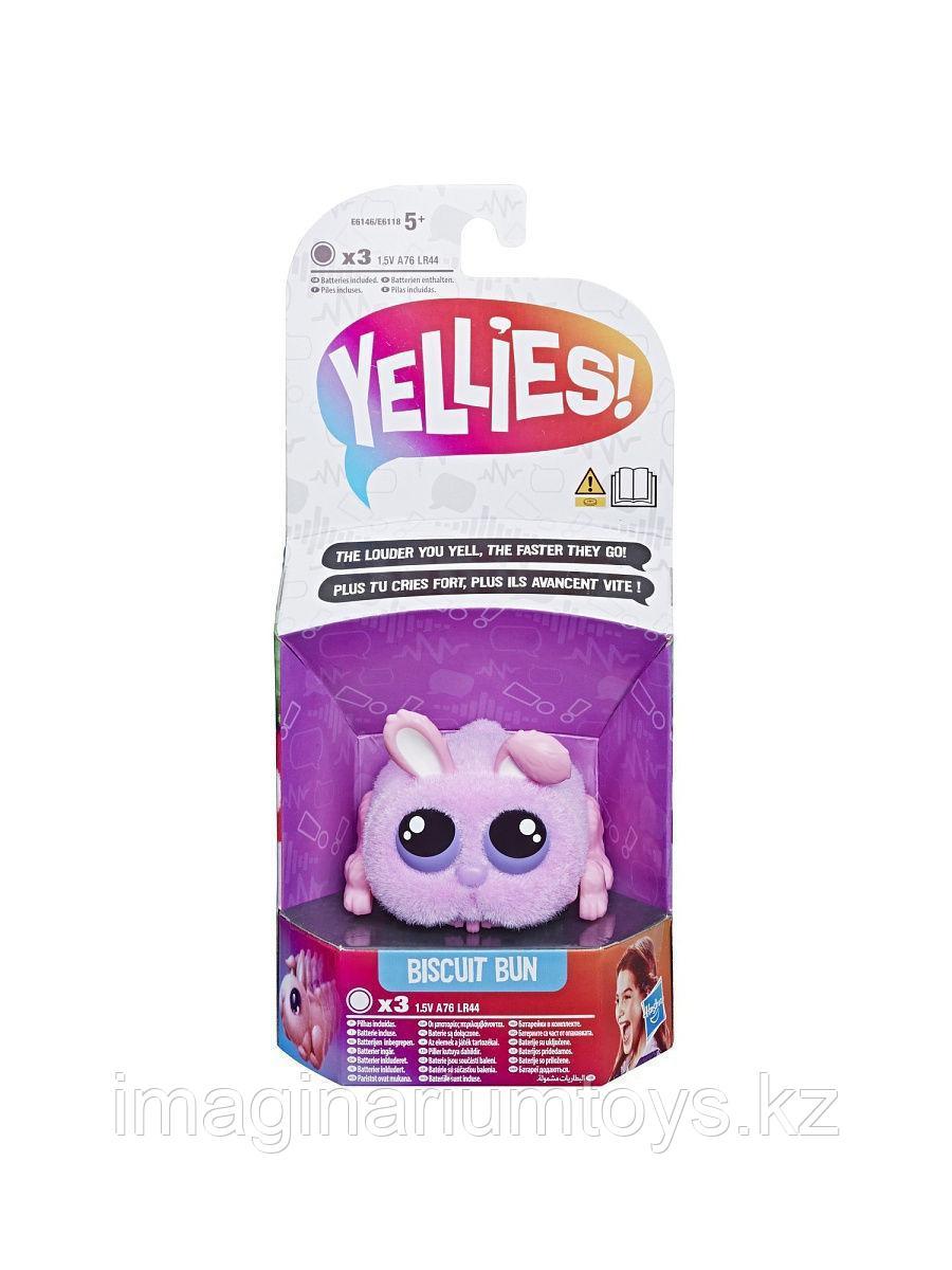 Интерактивная игрушка кролик Yellies розовый