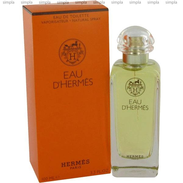 Hermes Eau D`Hermes туалетная вода объем 100 мл (ОРИГИНАЛ)