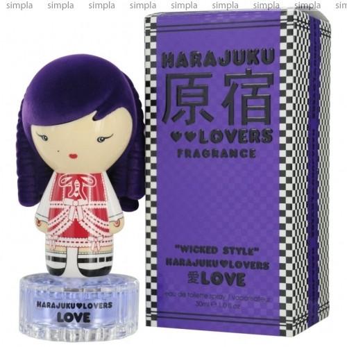 Harajuku Lovers Wicked Style Love туалетная вода объем 100 мл тестер (ОРИГИНАЛ)