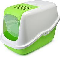 Savic Nestor Био-лоток с фильтром и дверцей, бело-зеленый, пластик, 0227-00WL, 1 шт.