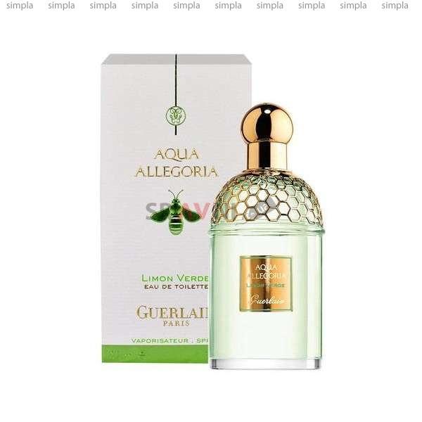 Guerlain Aqua Allegoria Limon Verde туалетная вода объем 125 мл Тестер (ОРИГИНАЛ)