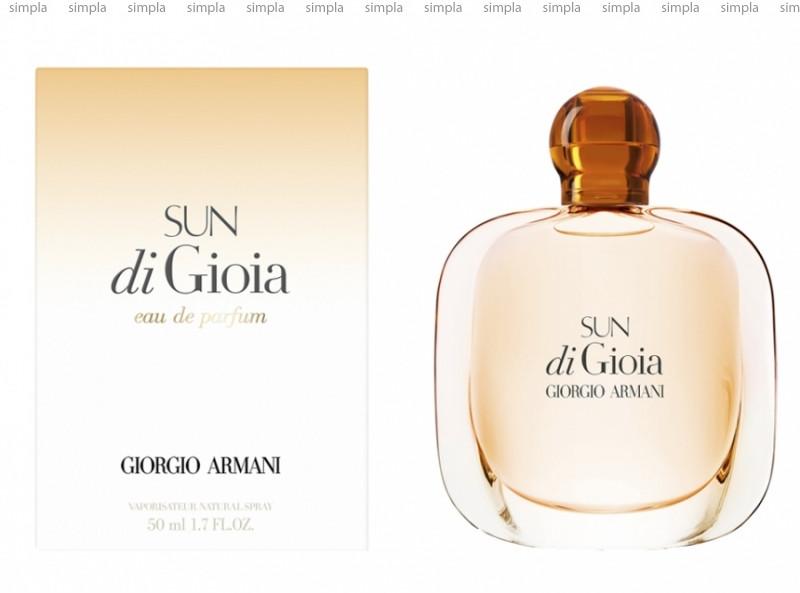 Giorgio Armani Sun di Gioia парфюмированная вода объем 50 мл тестер (ОРИГИНАЛ)