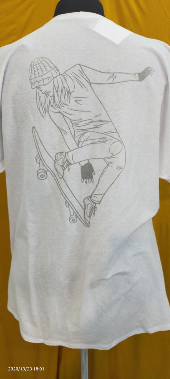 Белые футболки оверсайз - фото 1