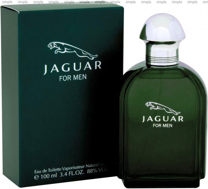 Jaguar Green For Men туалетная вода объем 100 мл Тестер (ОРИГИНАЛ)