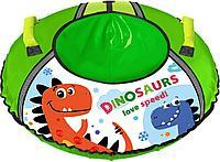 Тюбинг Ника с рисунком ТБ1КР-95/Д с динозавриком