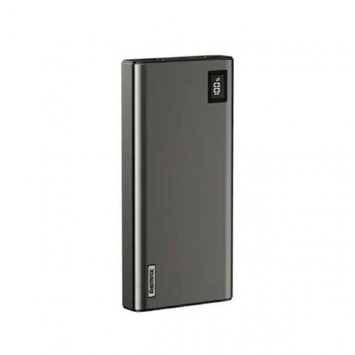 Power Bank Remax RPP-8 20000mAh QC + PD с быстрой зарядкой (черный)