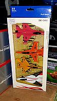 Детский набор самолётов, 4 в 1, металлические, фото 1