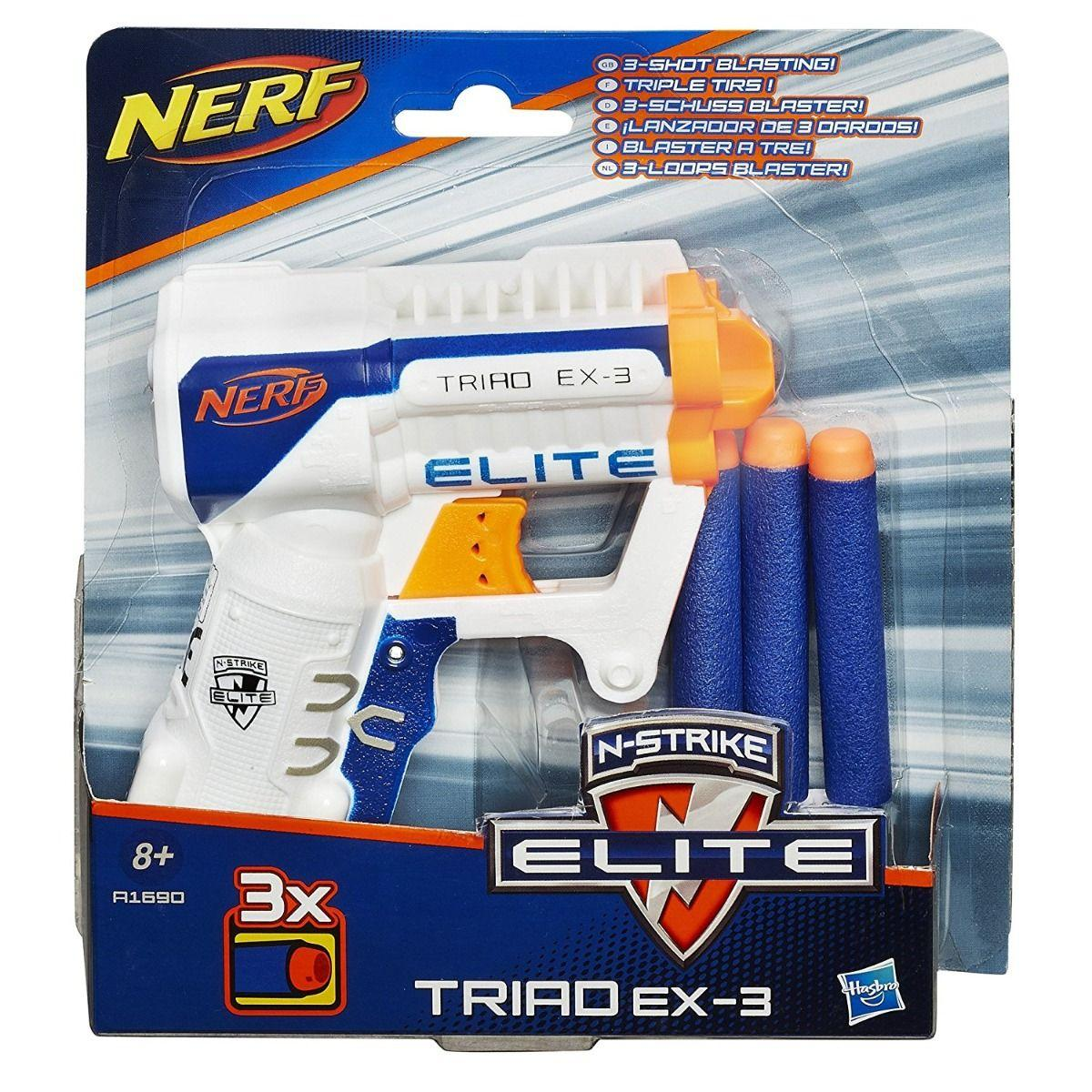 Nerf: Elite. Триад