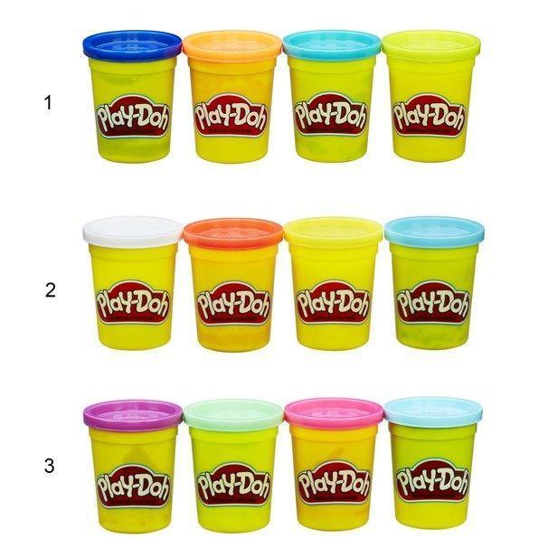 Пластилин 4 банки Play Doh
