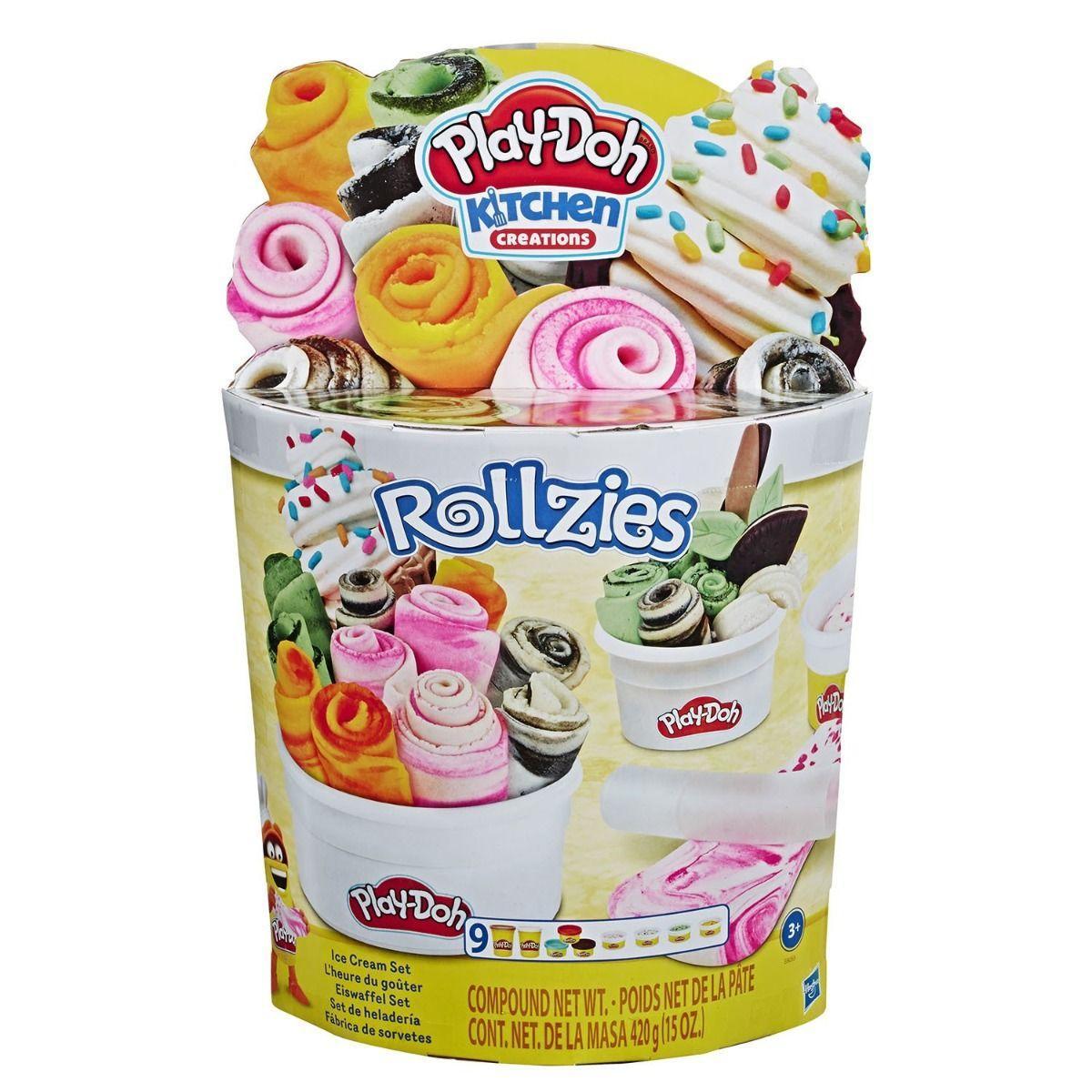 """Пластилин Игровой набор """"Взрыв цвета - мороженое"""" Play Doh"""