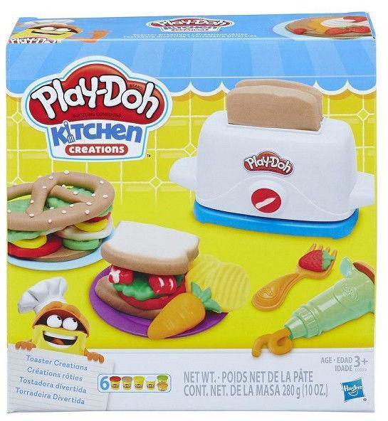 """Пластилин Игровой набор """"Тостер"""" Play Doh"""
