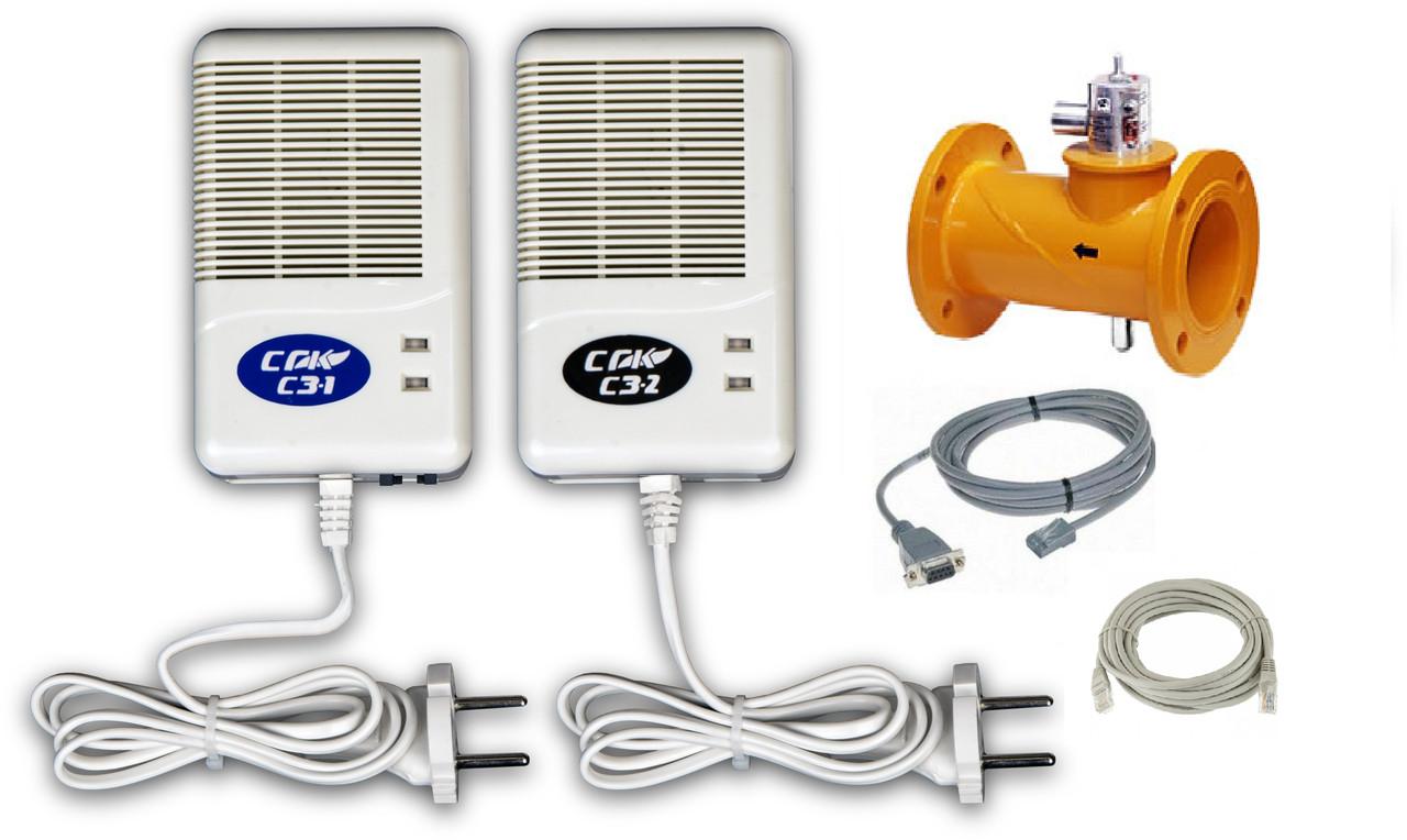 Система автономного контроля загазованности СГК-2 DN50 СД СО-СН4 (фланцевый)