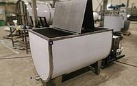 Охладитель молока ванна горизонтальная открытого типа (нерж. сталь) 1500 литров