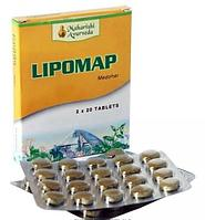 Липомап, снижение уровня холестерина, LIPOMAP Maharishi Ayurveda 40 таб.