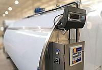 Молочный охладитель нержавеющий горизонтальный закрытого типа 4000 литров