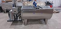 Молочный охладитель горизонтальный открытый из нержавеющей стали 1500 литров