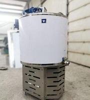 Вертикальная открытая охладительная установка для молока 200 литров ОМВТ