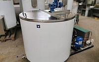 Открытый молокоохладитель вертикального типа 500 литров ОМВТ